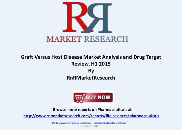 Browse more reports on Pharmaceuticals at http://www.rnrmarketresearch.com/reports/life-sciences/pharmaceuticals . Graft V...
