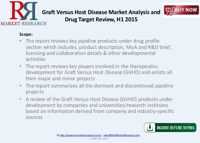 © http://www.rnrmarketresearch.com/ ; sales@RnRMarketResearch.com +1 888 391 5441 Scope: • The report reviews key pipeline...