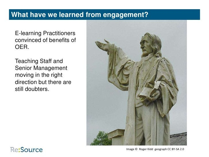 What have we learned about collaboration?                                            Common Aims:                         ...