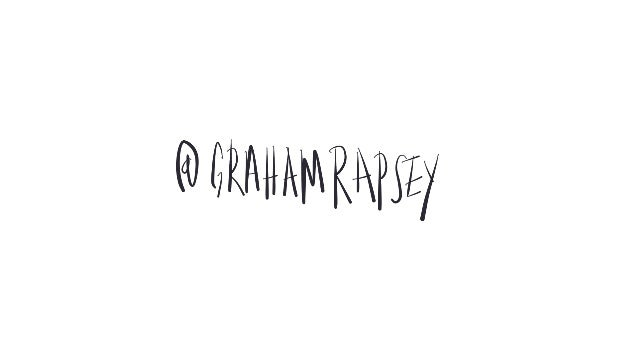 The Language of People Giving a Shit with Graham Rapsey