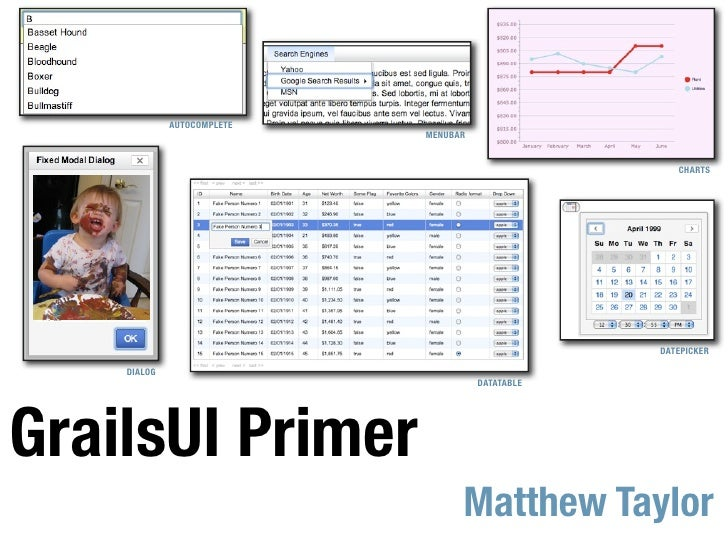 Grails UI Primer
