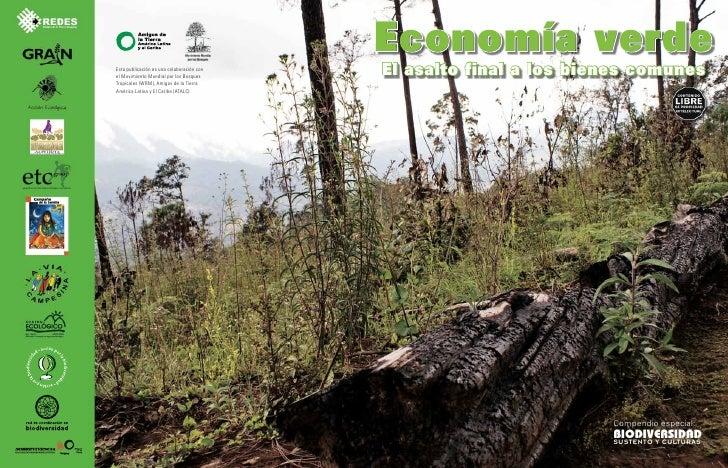 Economía verdeEsta publicación es una colaboración conel Movimiento Mundial por los Bosques                               ...