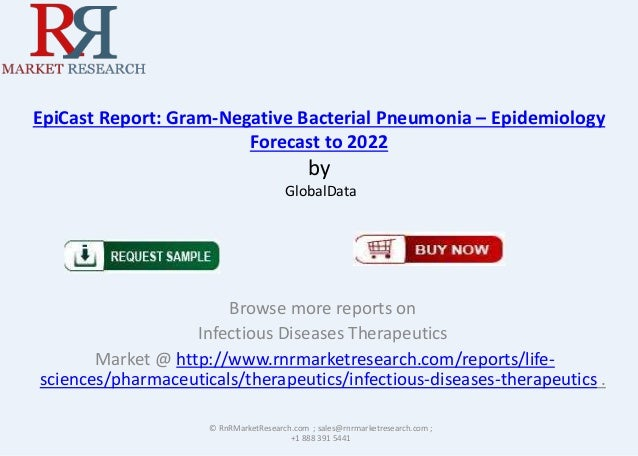 EpiCast Report: Gram-Negative Bacterial Pneumonia – Epidemiology Forecast to 2022  by GlobalData  Browse more reports on I...