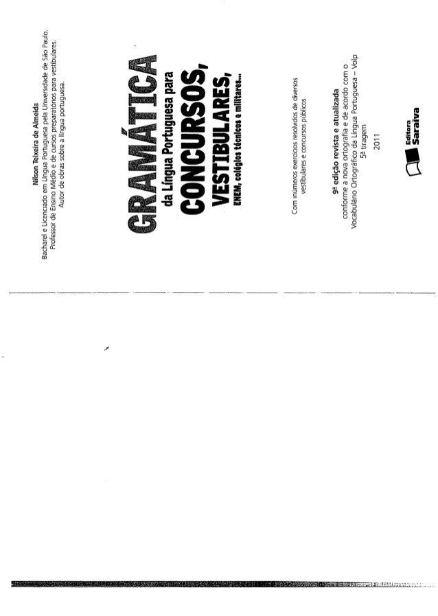 Gram -tica-da-l--ngua-portuguesa-para-concursos---nilson-teixeira---2011
