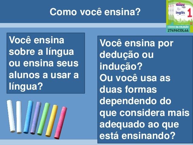 Ensino de Gramatica no Alive High Slide 3