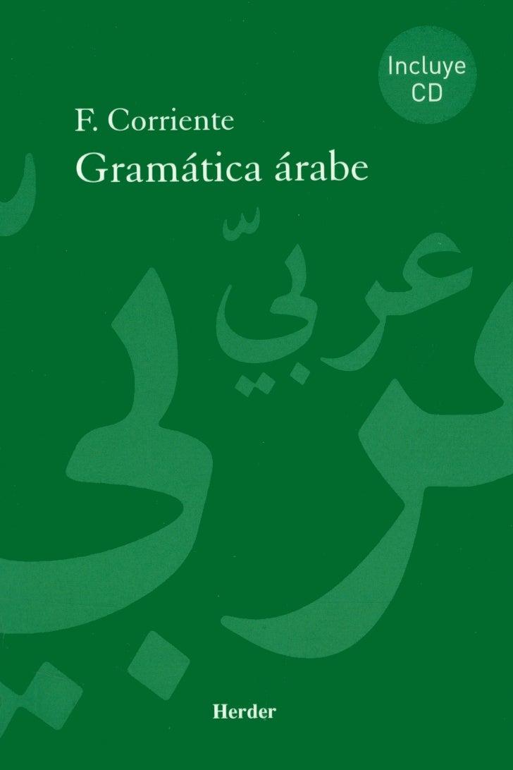 Gramatica arabe em Espanhol