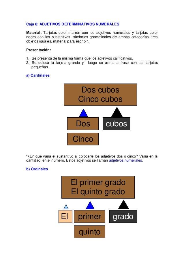 Indican orden. c) Múltiples Expresan multiplicación, proporción. d) Partitivos Indican fragmento, parte o división. e) Dis...
