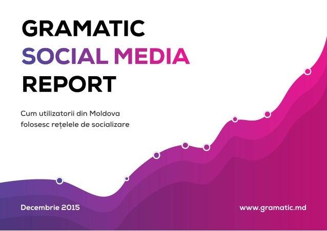 Social Media Report 2015 (Republica Moldova)