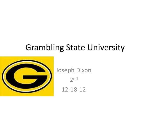Grambling State University        Joseph Dixon             2nd          12-18-12