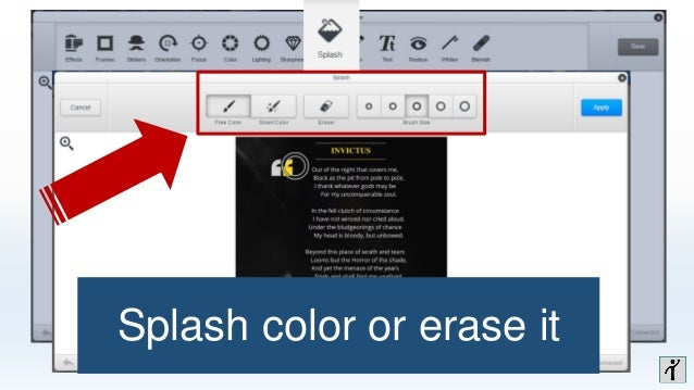 Directly share photos in instagram from your computer add text and customize font and color ccuart Choice Image