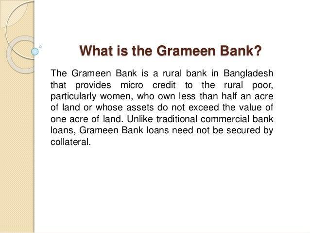 Grameen Group Lending Model