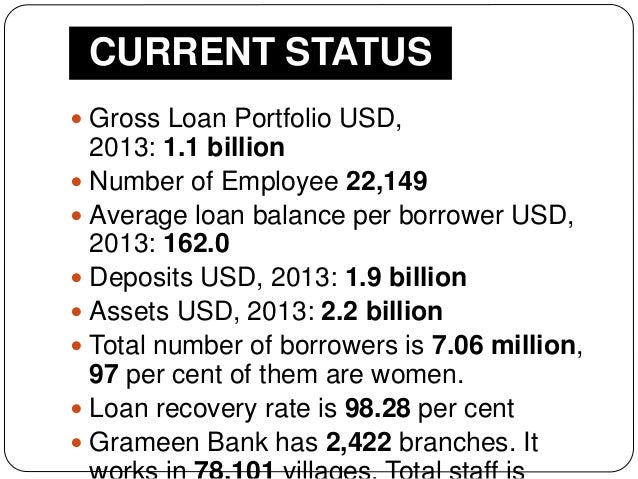 grameen bank interest of borrowers be Grameen bank the microfinance mystery submitted by martin ravallion on tue, 03/29/2011  high indebtedness of borrowers, high interest rates, coercive loan .