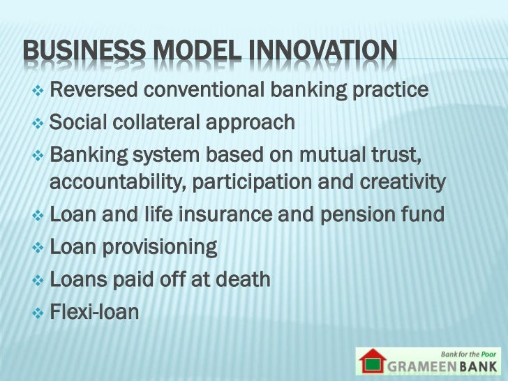 grameen bank research paper In australia, caepr is currently the only dedicated research centre  this discussion paper explores key features of the grameen bank model and examines.