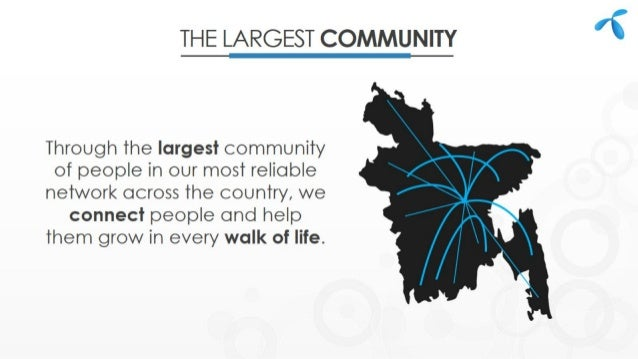 GrameenPhone - The Largest Telecom Company of Bangladesh Slide 3