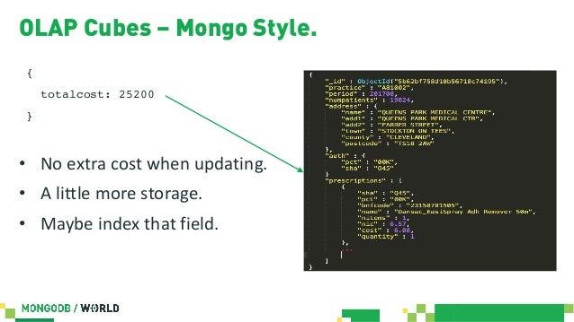 MongoDB World 2019: RDBMS Versus MongoDB Aggregation Performance