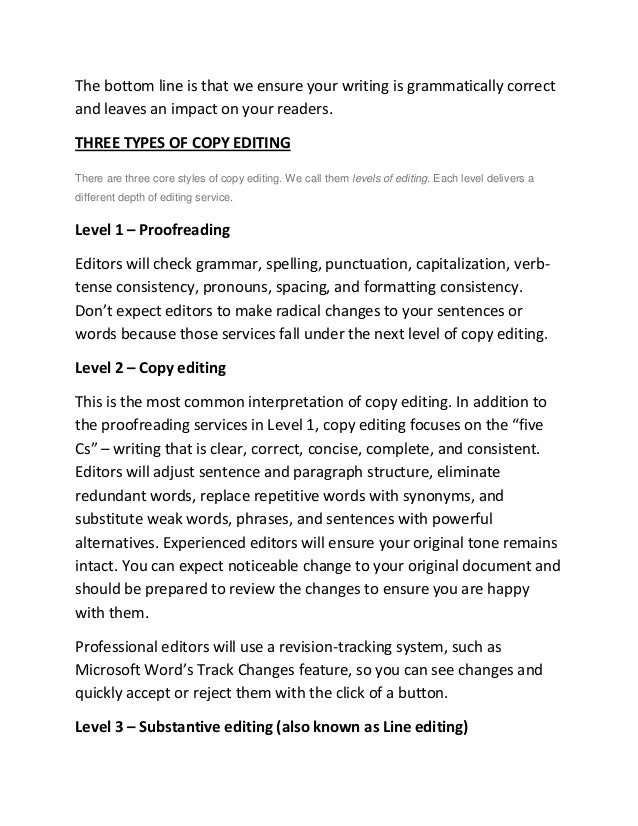 Dissertation and Thesis Proofreading Services