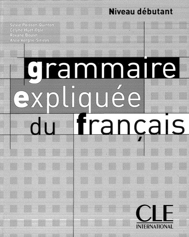 Grammaire expliquée-du-francais-débutant