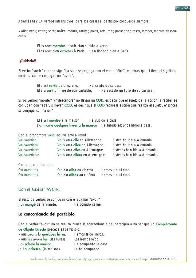 Grammaire Francaise Juntaandalucía