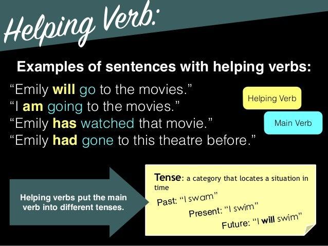 Grammar Verb Types