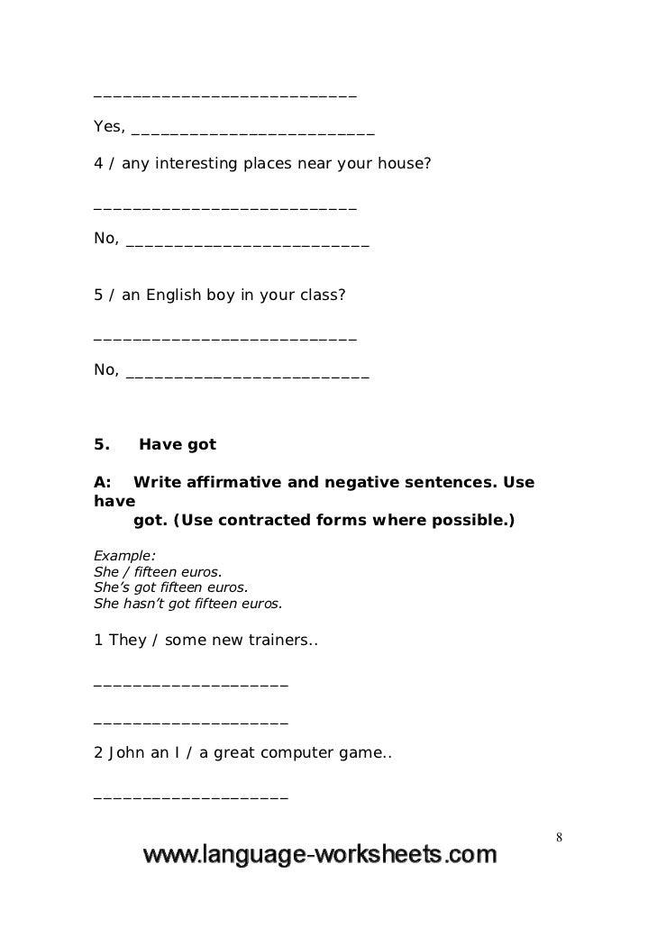 Printable Worksheets grammar worksheets for grade 1 : Grammar worksheets