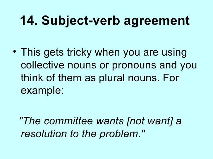 Grammar for journalists 82 14 subject verb agreement platinumwayz