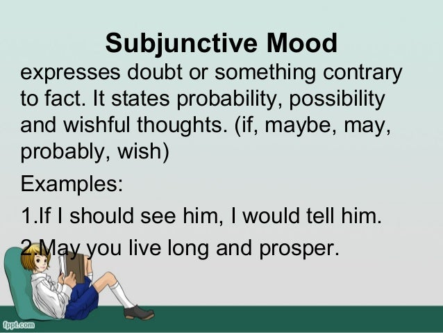 Subjunctive Mood Examples Images Example Cover Letter For Resume