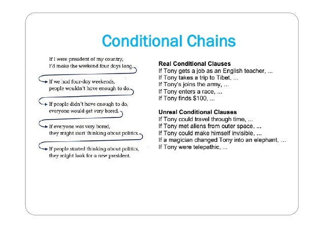 Conditional Chains