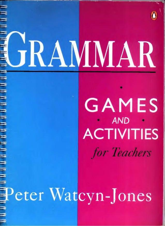 Grammar games and activities