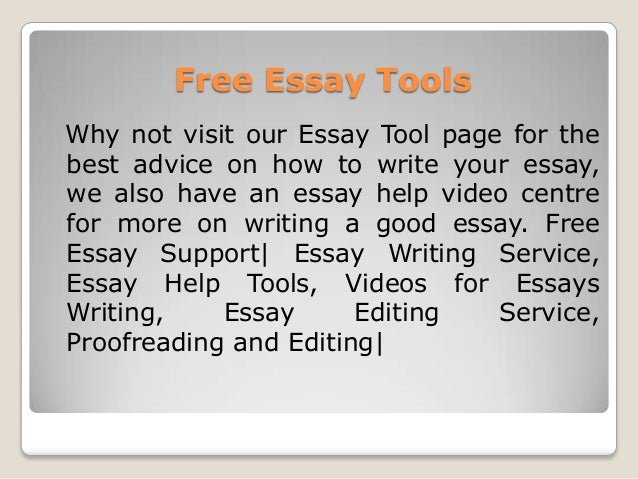 proofread and edit my essay for free