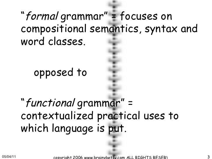 Grammar ii (unit 1) Slide 3