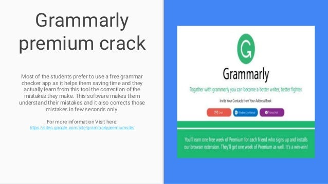 Fascination About Grammarly Free Trial