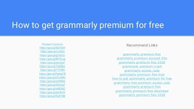 The 8-Second Trick For How To Get Grammarly Premium For Free