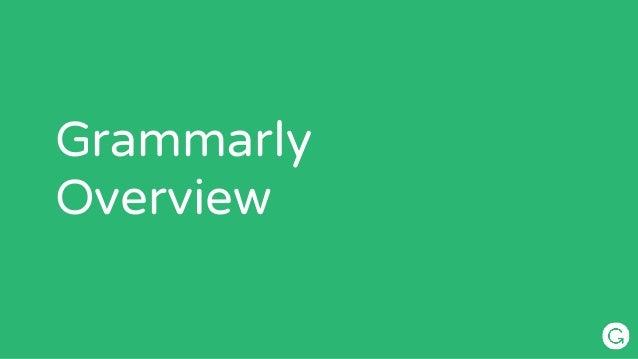 Grammarly  Overview