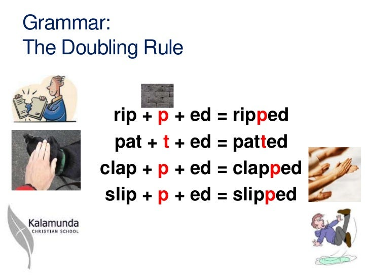 Y1 grammar the doubling rule ppt tg 2012 grammarthe doubling rule rip thecheapjerseys Images