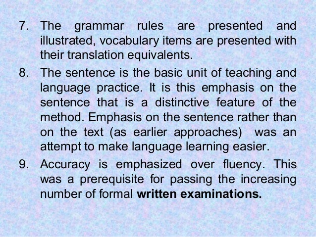 how grammar is taught in task based language learning method Linguists agree that the best method of learning a language is through a 'communicative approach' that focuses on conversations, rather than vocabulary and grammar more recently, this has evolved to conversations on real-life scenarios or 'tasks.