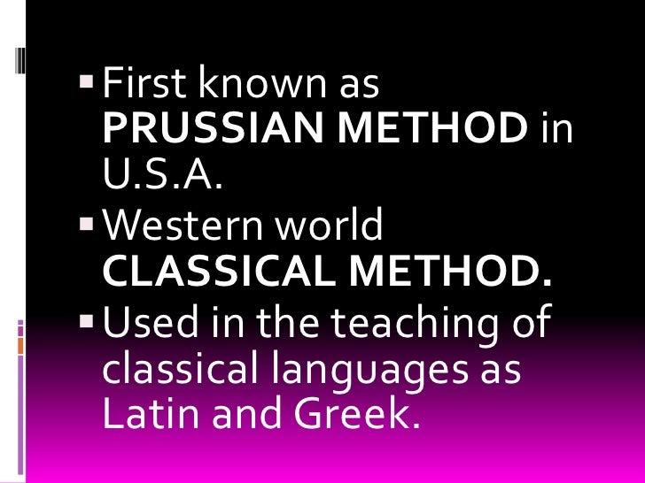 Grammar translation method presentation Slide 3