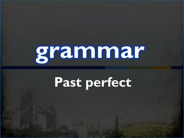 Gebruik: iets gebeurde in het verleden voordat er iets anders gebeurde. Je kunt de past perfect alleen gebruiken als er oo...
