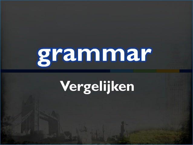 Bij woorden met maar één lettergreep: small (1) + …er than smaller than (2) + the …est the smallest (3 of meer)