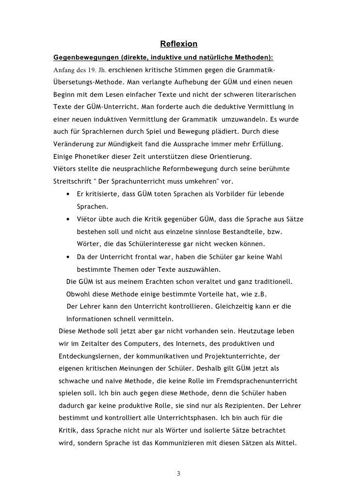 Grammatik Uebersetzungsmethode