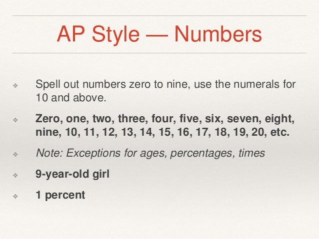 Ap Style Guide Writing Percentages In Essays - image 5