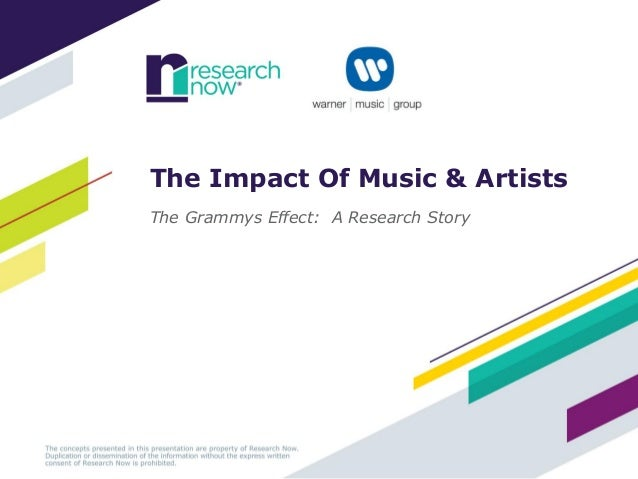 The Impact Of Music & ArtistsThe Grammys Effect: A Research Story