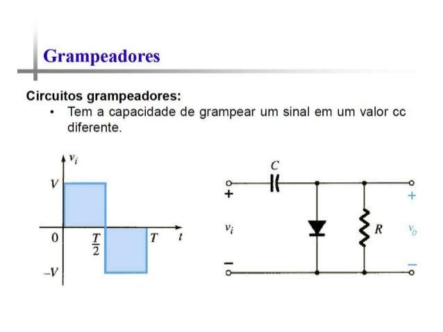 Circuito Zener : Circuitos com diodos grampeador ceifador zener