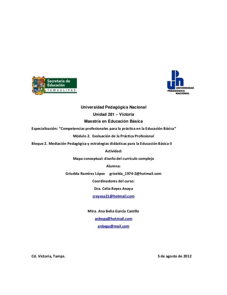 Universidad Pedagógica Nacional                                      Unidad 281 – Victoria                                ...