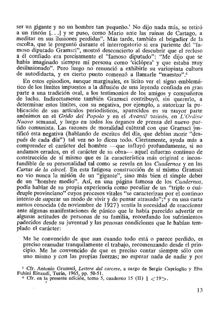 Antonio Gramsci - Cuadernos de la cárcel (Tomo 1)