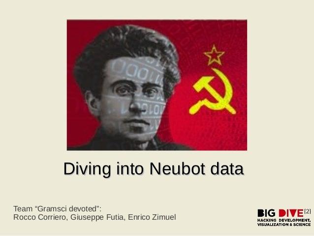 "Diving into Neubot dataDiving into Neubot data Team ""Gramsci devoted"": Rocco Corriero, Giuseppe Futia, Enrico Zimuel"