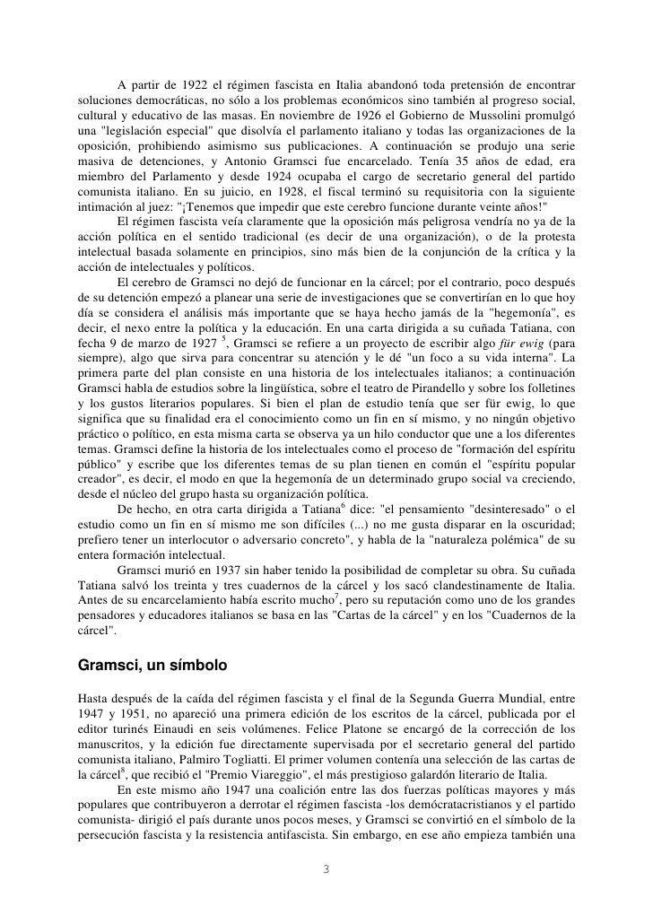 A partir de 1922 el régimen fascista en Italia abandonó toda pretensión de encontrarsoluciones democráticas, no sólo a los...