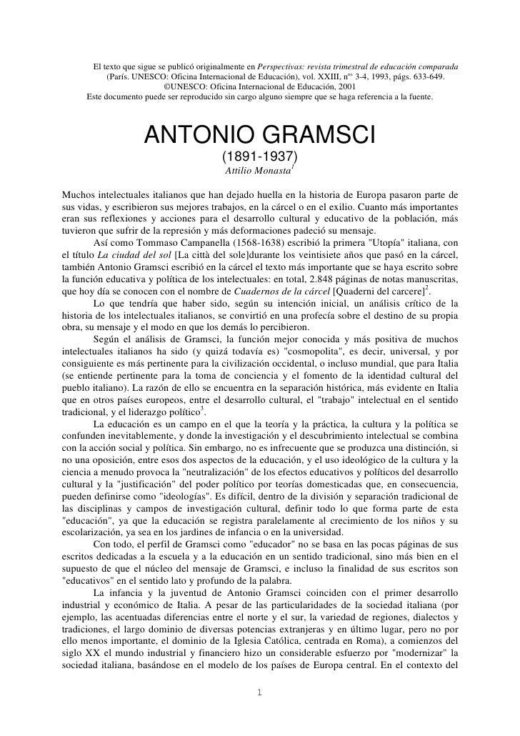 El texto que sigue se publicó originalmente en Perspectivas: revista trimestral de educación comparada            (París. ...