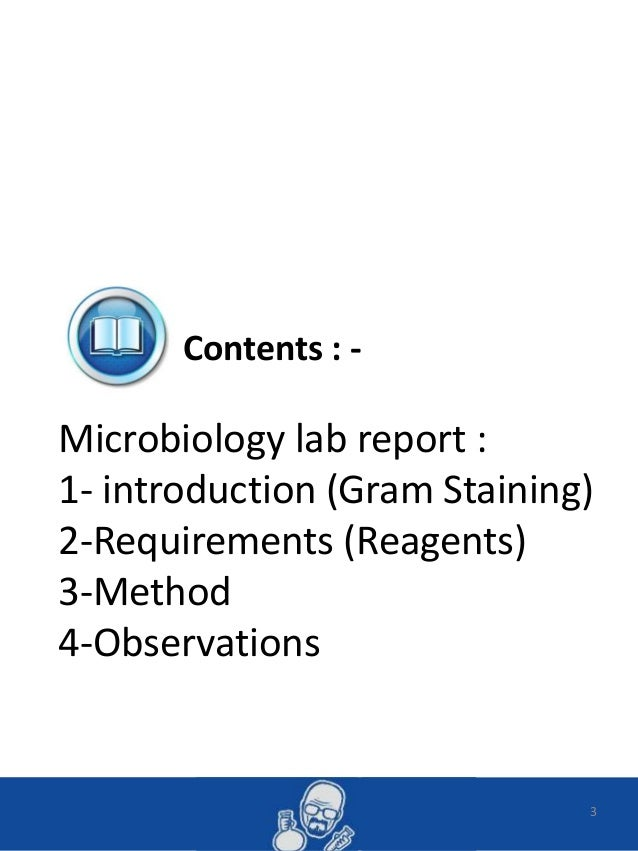 antibiotic lab report Need to report the video the test compares the antibiotic's ability to prevent bacterial growth to a common set of standards flipped lab videos.