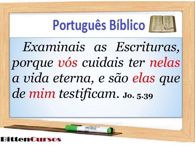 Gramática Bíblica   PRONOMES PESSOAIS