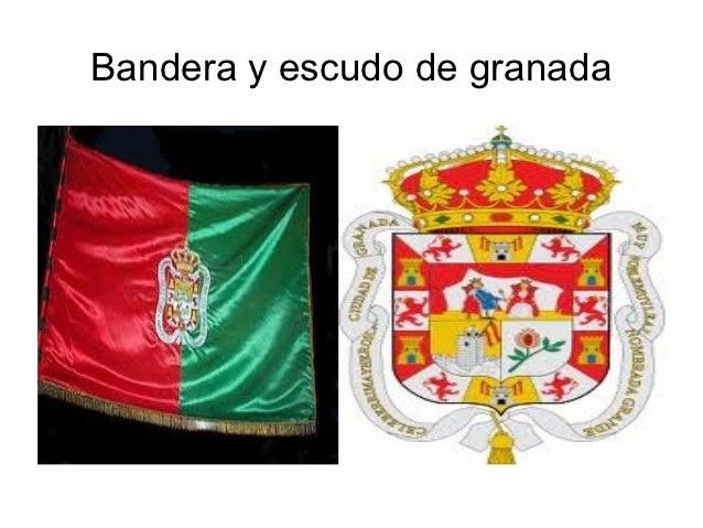 Bandera y escudo de granada